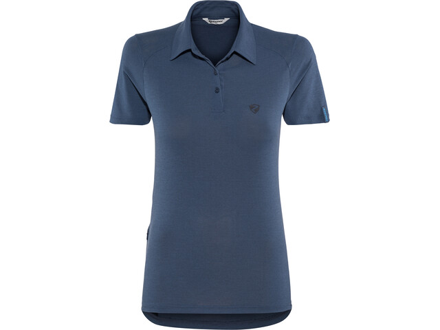 Ziener Clemenzia Polo Shirt Damen antique blue